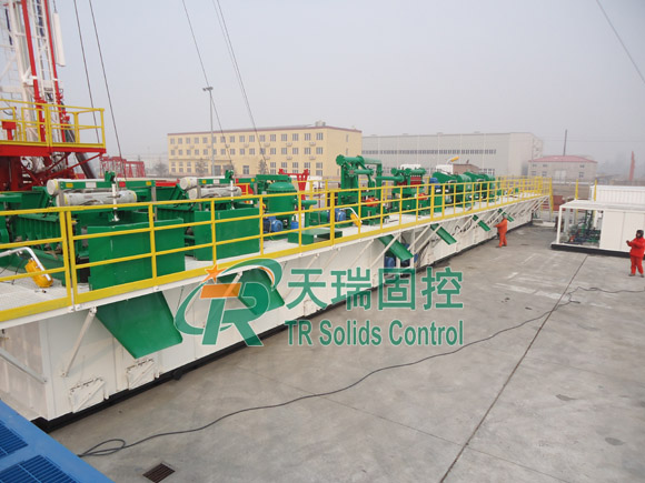 TR Solid control system, mud recovery system, mud purification system
