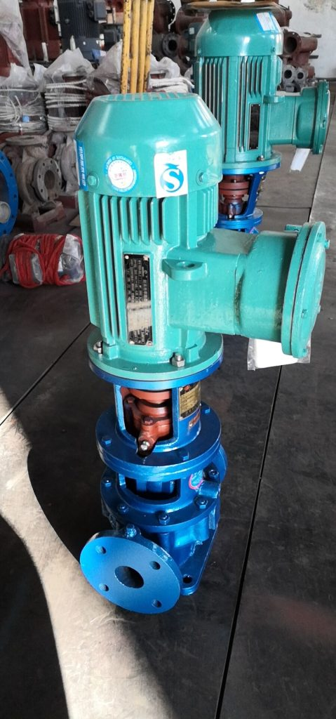 ISGY50-125 with 2.2KW Explosion-proof Motor.